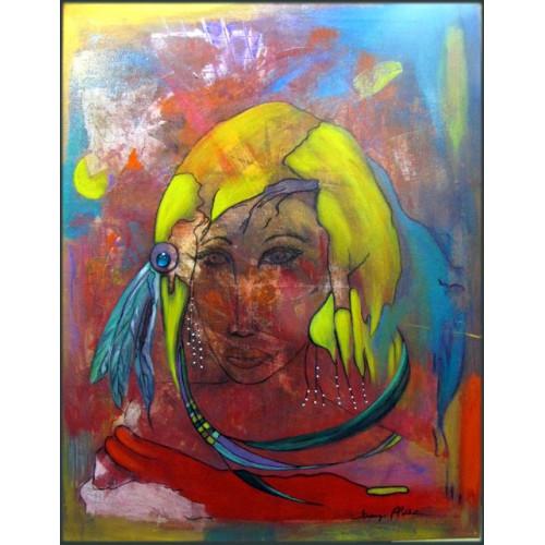 peinture acrylique , Ayla