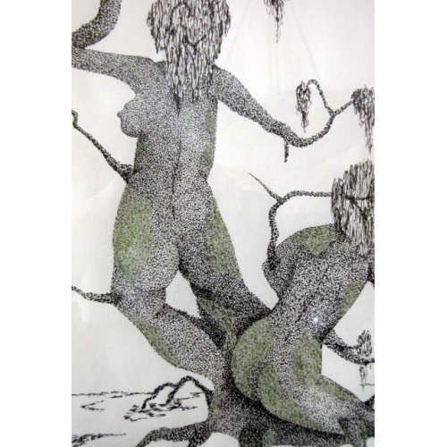 JACQUES PELLETIER; DESSINS, POINTILLISMES